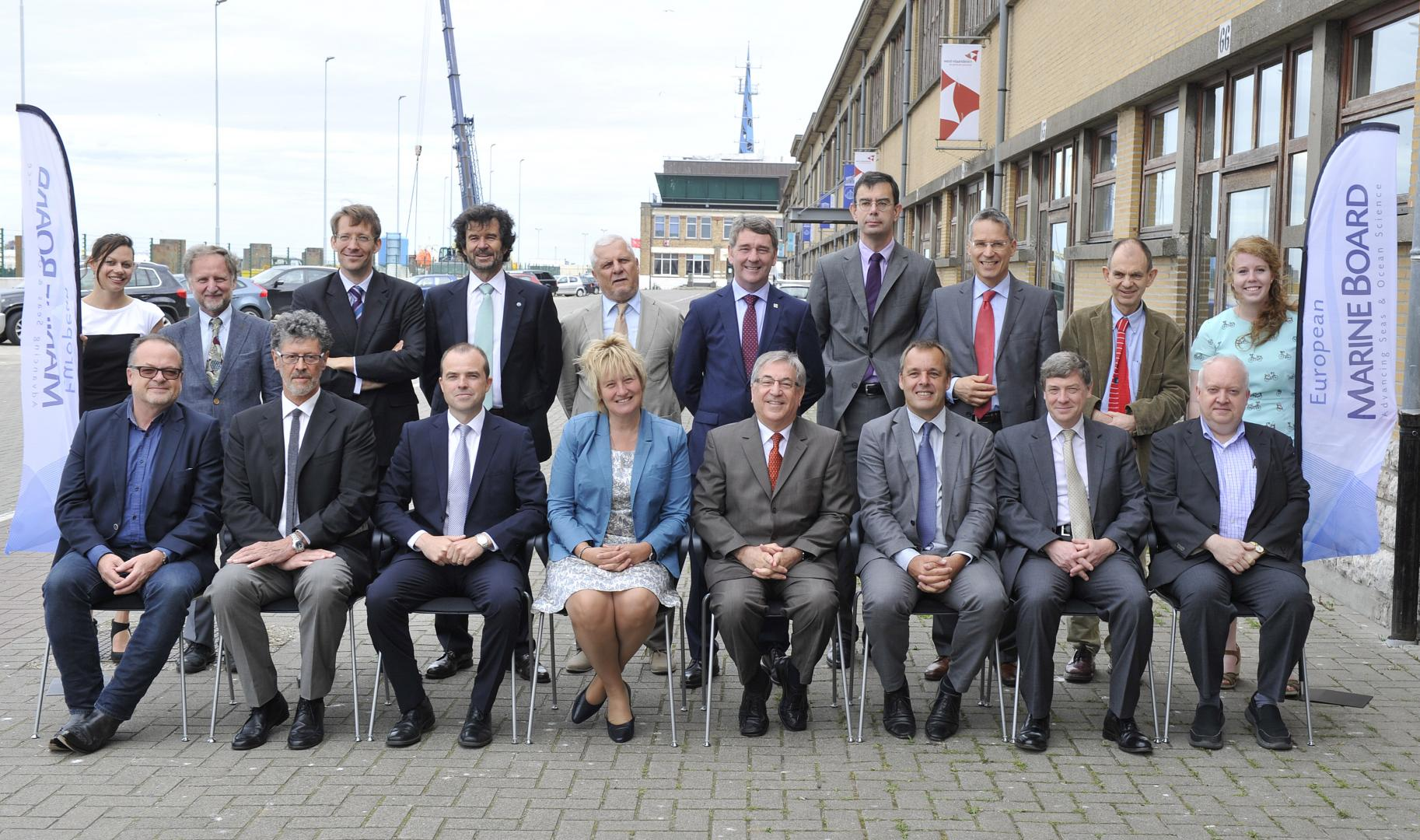 European Marine Board group photo 2016