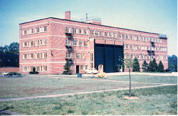 The NIO building at Wormley in the 1950s