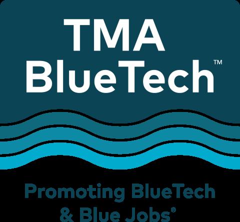 TMA Bluetech, promoting bluetech and blue jobs (logo)
