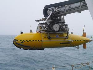 Autosub returning from a successful mission