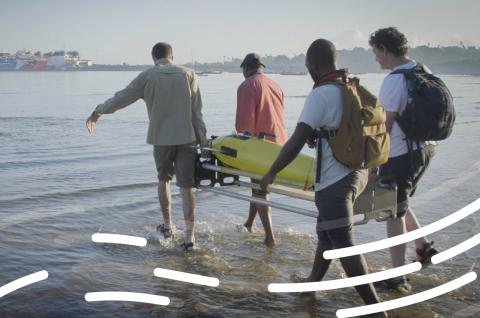 Glider deployment in Tanzania