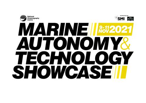 Marine Autonomy and Technology Showcase promotional image