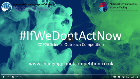 Take part in this National Environmental Isotope Facility and British Ocean Sediment Core Research Facility outreach competition to win two, fully funded days on analysis time on a project of your choice