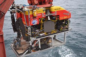 Launching Isis ROV