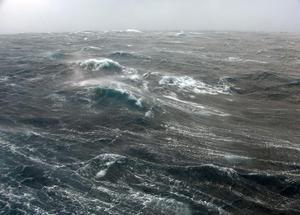 Extreme weather at sea (image: Ben Moat)