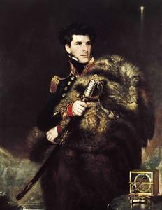 Commander James Clark Ross, painted by John R. Wildman in 1834