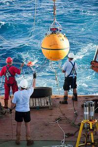 Deploying a RAPID buoy