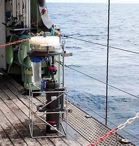SAP (Submersible Autonomous Pump) on deck