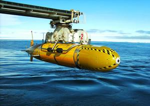 Autosub3, a robot submarine operated by the National Oceanography Centre