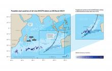 Lessons learnt from the drift analysis of MH370 debris | National