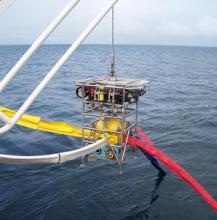 Robotic Underwater Vehicle (RUV) HyBIS (Photo courtesy of NOC)