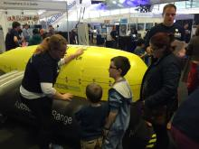 Boaty McBoatface appearing at NERC's Unearthed Event