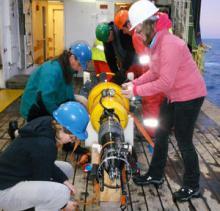 Preparing the sub-surface profiler