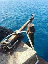 Ascension Island tide gauge sensors