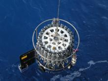 One of the CTD instruments used to collect the data used in this study.