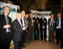 VIP guests and speakers at the Climate Change Science briefing