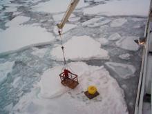 Working in the Arctic Ocean