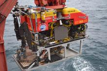 Launching Isis ROV