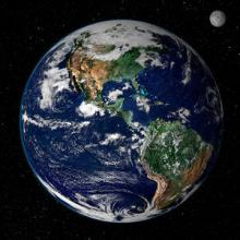Earth from space (credit: NASA)