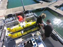 Ocean glider deployments