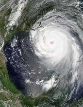Hurricane Katrina (courtesy: NASA/Jeff Schmaltz, MODIS Land Rapid Response Team)
