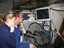 NOC scientists looking at Ferrybox data