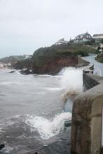 High tide in South Devon