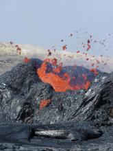 Magmatic eruption