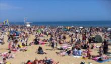 Bournemouth in the heatwave of 2012