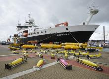 Marine Autononmous and Robotic Fleet with the RRS Discovery