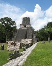 A Mayan temple in the Kingdom of Tikal; one of the most prominent of the Classic Period
