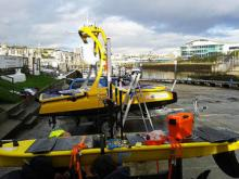 Waveglider and C-Enduro in Plymouth Harbour