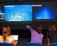 Sciences watch live video from the Mid-Cayman Rise