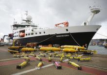 Part of the NOC's marine equipment fleet