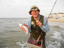 Fishing for European Sea Bass
