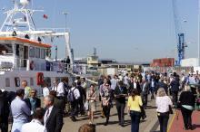 Ocean Business at NOC dockside