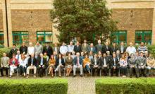 Tsunami conference participants