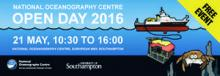 National Oceanography Centre Open Day 2016