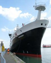 The new RRS Discovery – a platform for ocean observations