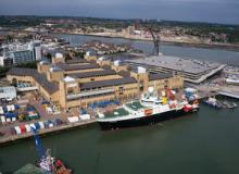 National Oceanography Centre with RRS Discovery