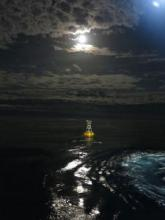 PAP site Met Office buoy (image: Jon Campbell)