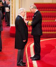 Professor Philip Woodworth MBE (British Ceremonial Arts Ltd)