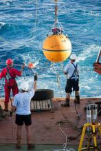 Deploying a RAPID buoy