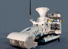 One of Soil Machine Dynamics' (SMD) remotely operated seafloor mining vehicles