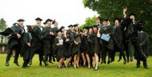 New graduates celebrate their success