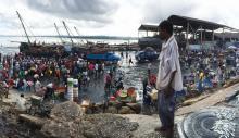 Tanzanian fishing market