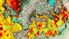 Sea-level detail from CryoSat (© ESA/CNES/CLS)