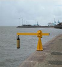 Tide gauge at Gladstone Lock, Liverpool