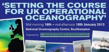 Setting the Course for UK Operational Oceanography