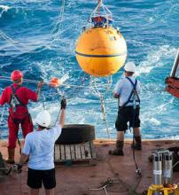 Deploying RAPID buoys